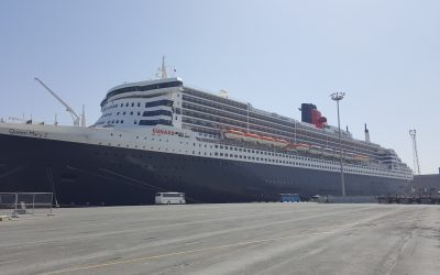 Queen Mary calls at Limassol Port